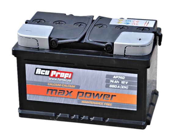 Baterie auto - AcuProfi Max-Power 74Ah