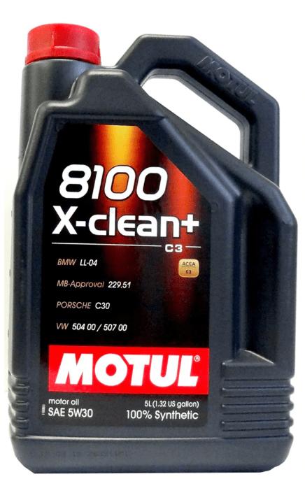 Ulei de motor diesel - Motul 8100 X-Clean+